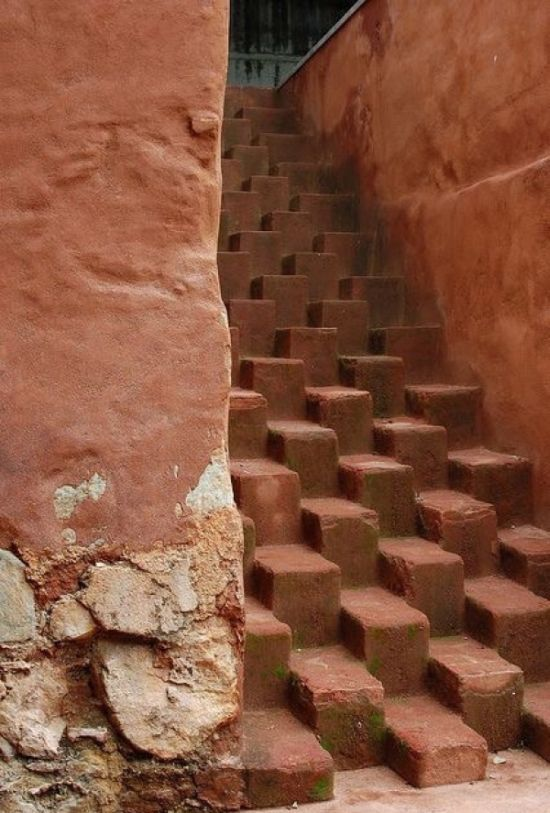 best or worst stairs ever, q*bert irl