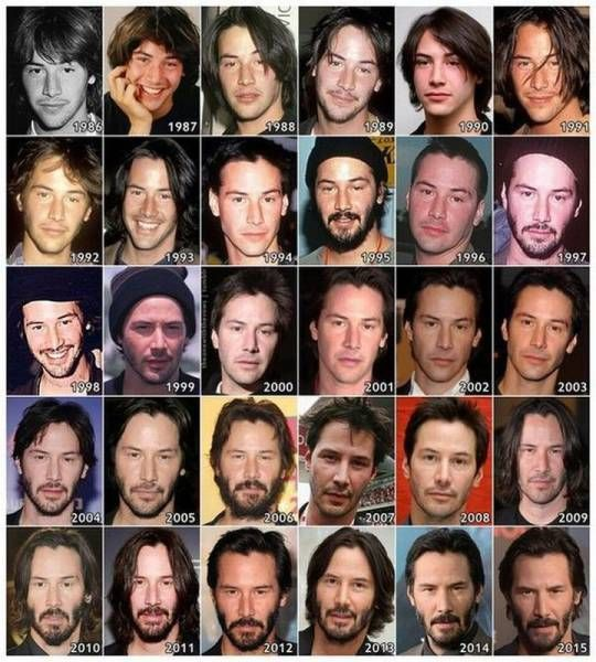 keanu reeves is aging very well