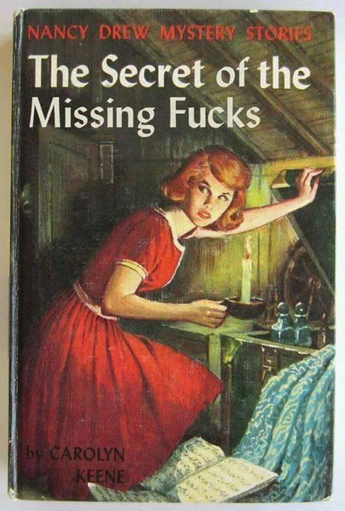 the secret of the missing fucks, nancy drew mystery stories