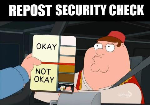okay, not okay, family guy report security check, skin pigmentation