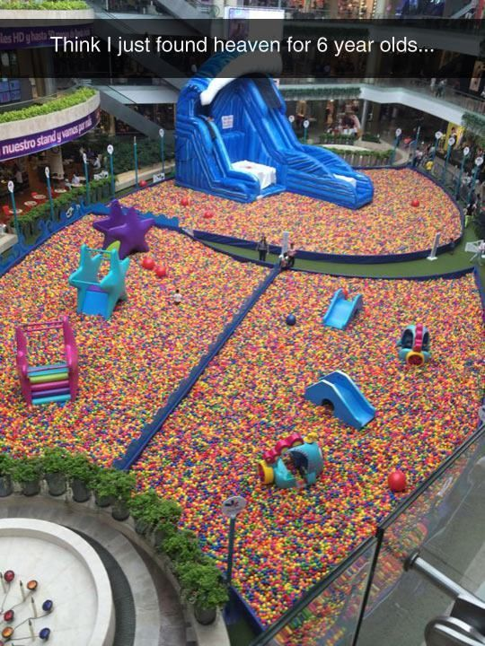 think i just found heaven for 6 year olds