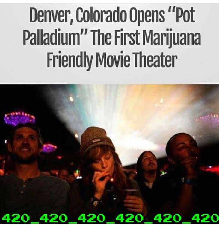 denver colorado opens pot palladium, the first marijuana friendly movie theatre