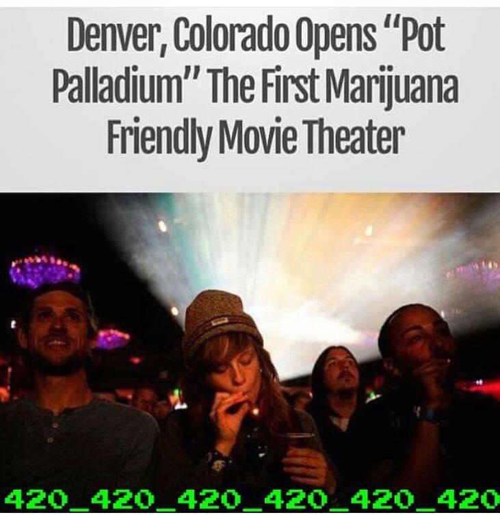 denver colorado opens pot palladium, the first marijuana friendly movie theatre