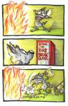 in case of fire break glass, comic