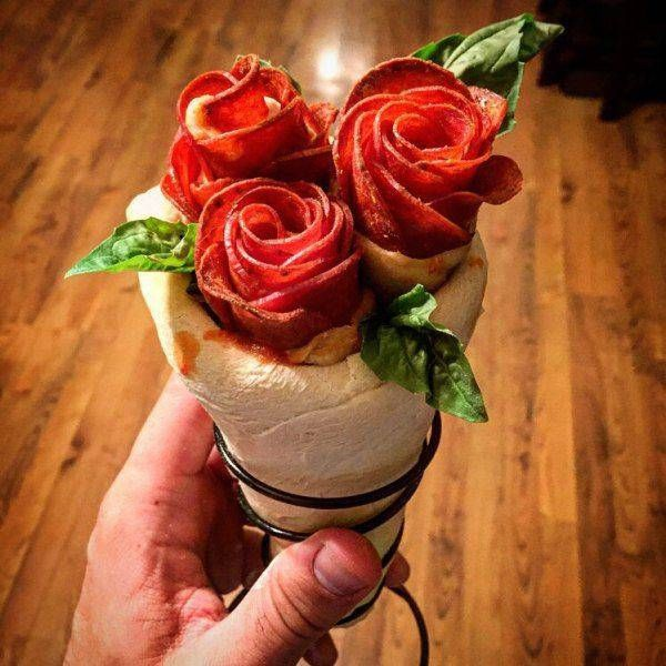 introducing the bacon rose bouquet sandwich