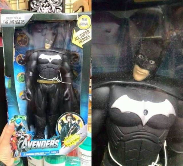 i wasn't aware that nicolas cage dressed at batman and was a member of the avengers