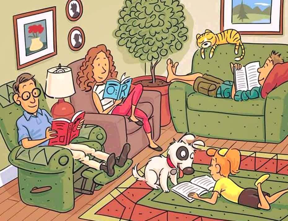 can you find six hidden words in this pic?, game