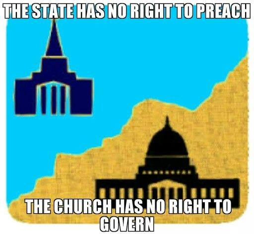 separation between church and state essays