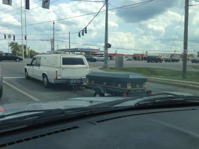 when the hearse was too expensive