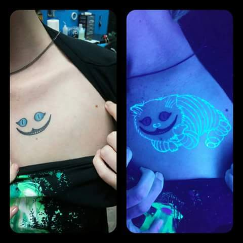 uv cheshire cat tattoo, win