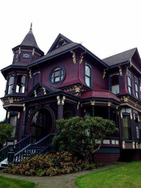 really cool big house