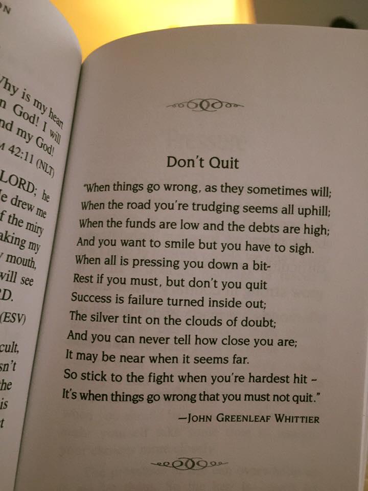 don't quit, john greenleaf whittier