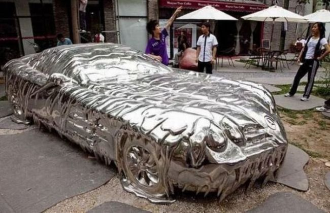 when your chrome paint job isn't quite as nice as you expected