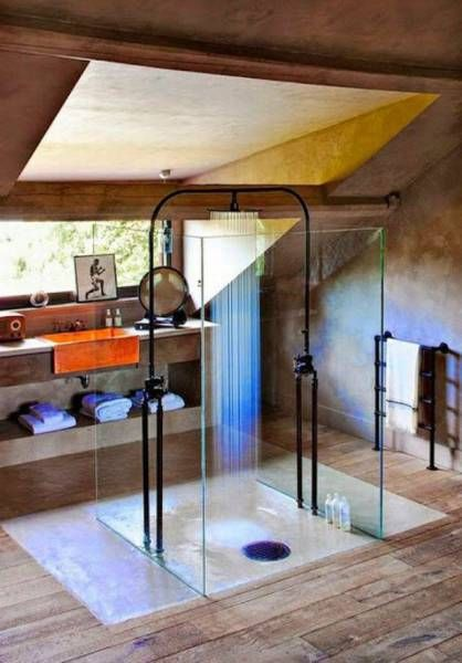 Open Concept Rain Shower - JustPost: Virtually entertaining