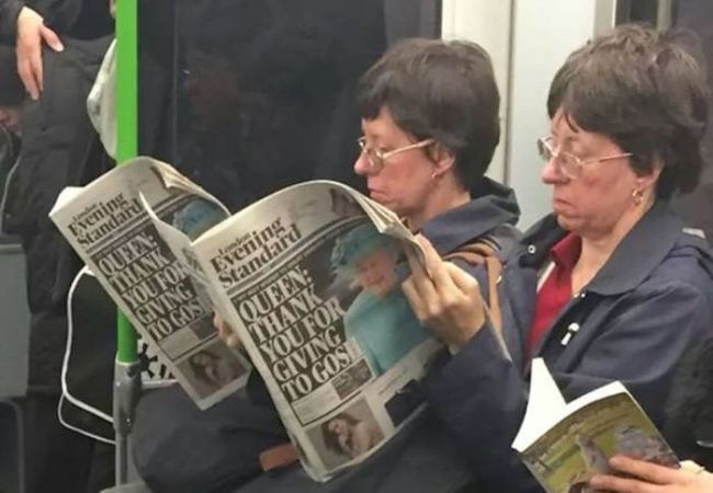 glitch in the matrix, twins on the subway