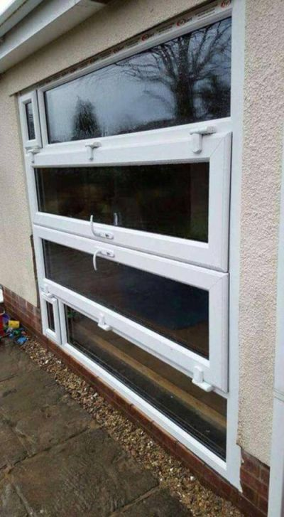 sideways door as window, construction fail, wtf