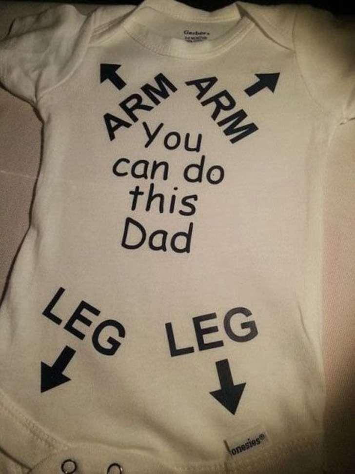 arm arm, you can do this dad, leg leg
