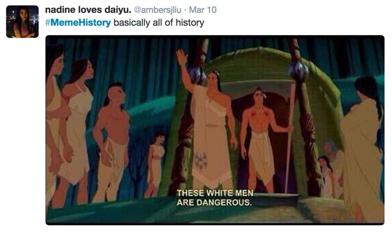 these white men are dangerous, basically all of history, memehistory