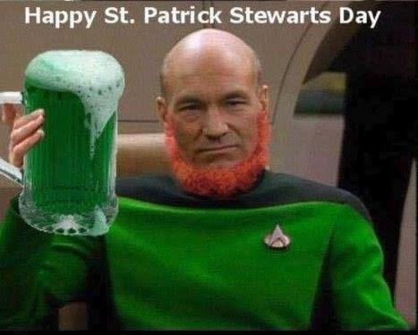happy st patrick stewart's day