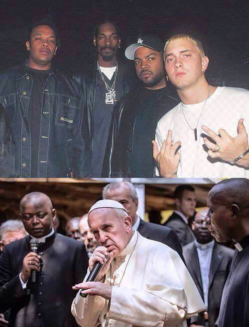 mad how time flies, eminem and crew, the pope