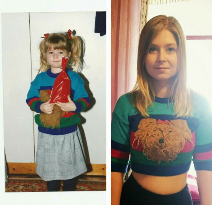 same shirt 20 years later, still fits
