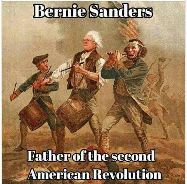 bernie sanders, father of the second american revolution