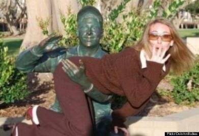 when statues attack, spanking, hacked irl
