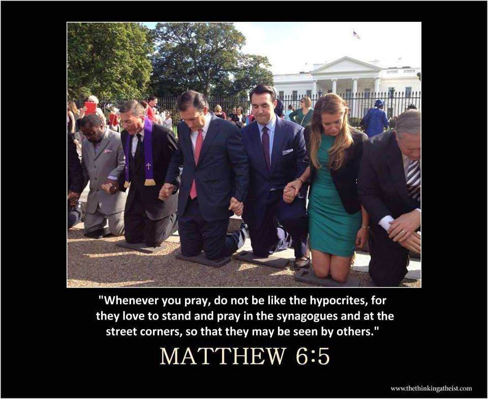 whenever you pray, do not be like the hypocrites, for they love to stand and pray in the synagogues and at the street corners, so that they may be seen by others, matthew 6 5