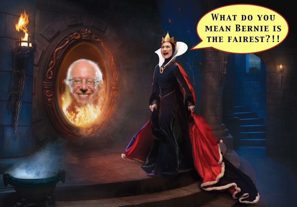 Hillary Clinton As The Evil Queen - JustPost: Virtually ...