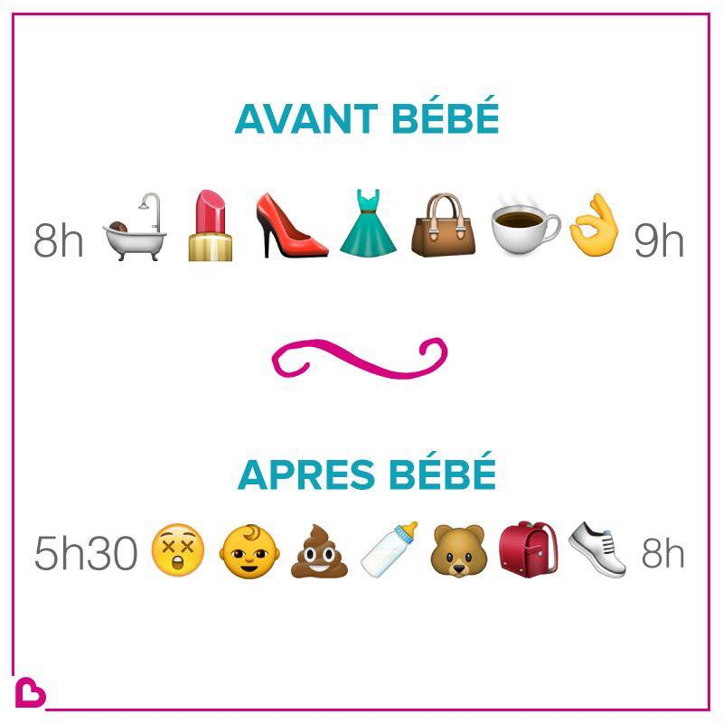 avant bebe et apres bebe, before and after baby