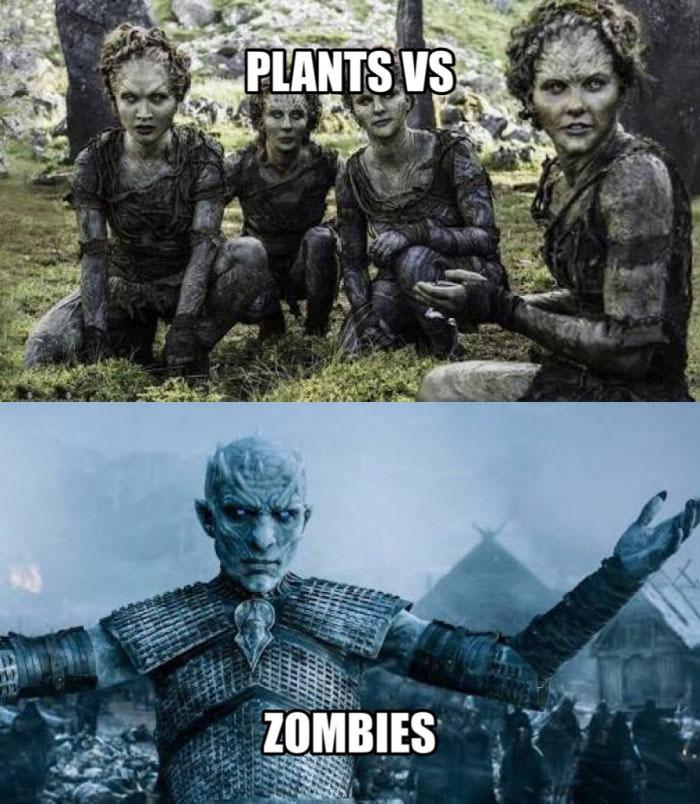plants versus zombies, game of thrones