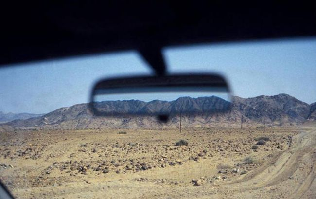 when your future looks a lot like your past, mountains line up in rear view mirror