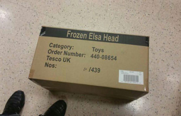 frozen elsa head, oh disney