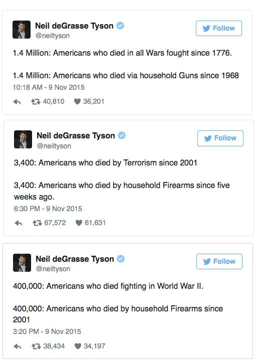 neil degrassse tyson lays out the numbers, no arguments necessary, facts are facts