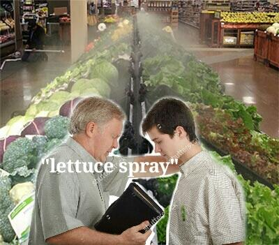 This Lettuce Spray