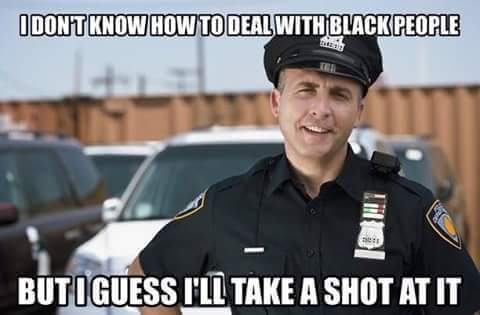 Image result for cop shooting memes