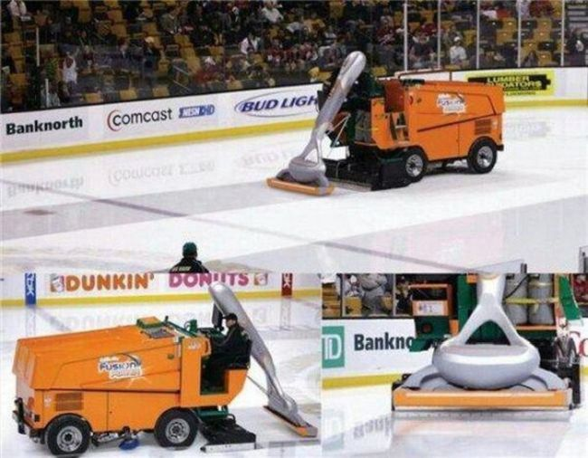 shaving the ice clean promotional stunt, brilliant ads