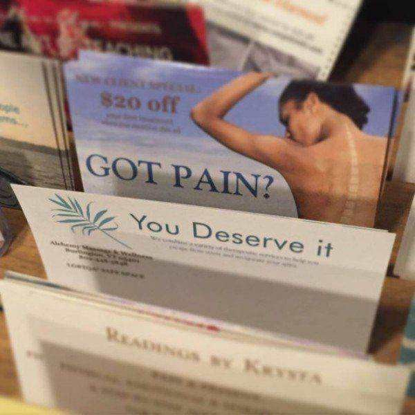 got pain?, you deserve it
