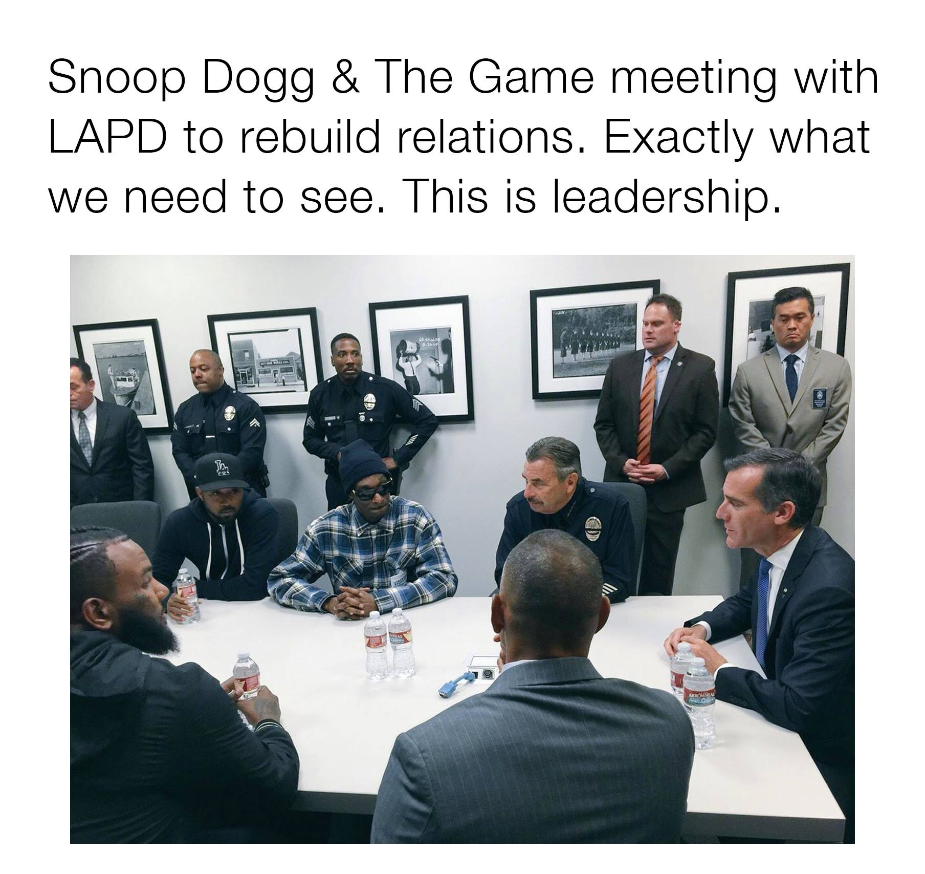 snoop dogg and the game meeting with laid to rebuild relations, exactly what we need to see, this is leadership