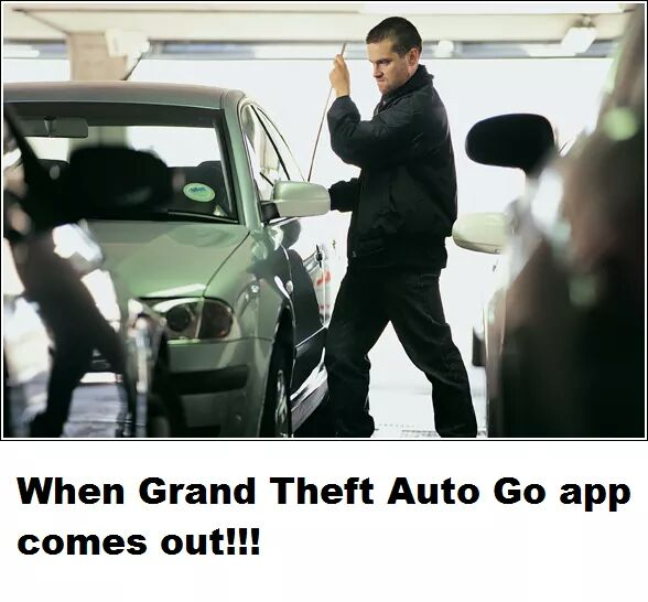 when grand theft auto go app comes out