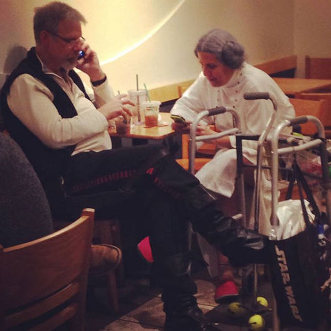 old couple star wars cosplay