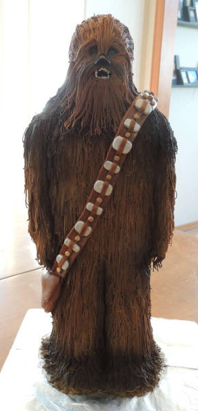 chewbacca cake, yes you read that right