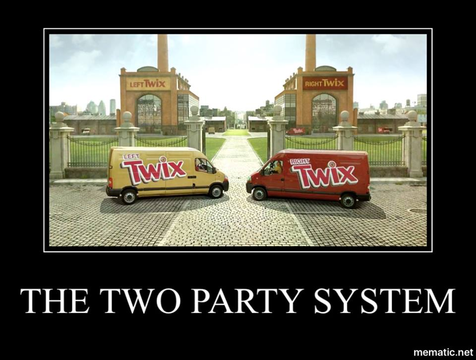 The Two Party System Justpost Virtually Entertaining