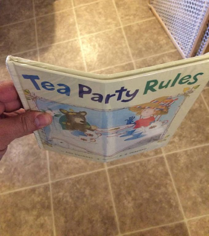 this is how my kids' book came in the mail, bent hardcover, delivery fail