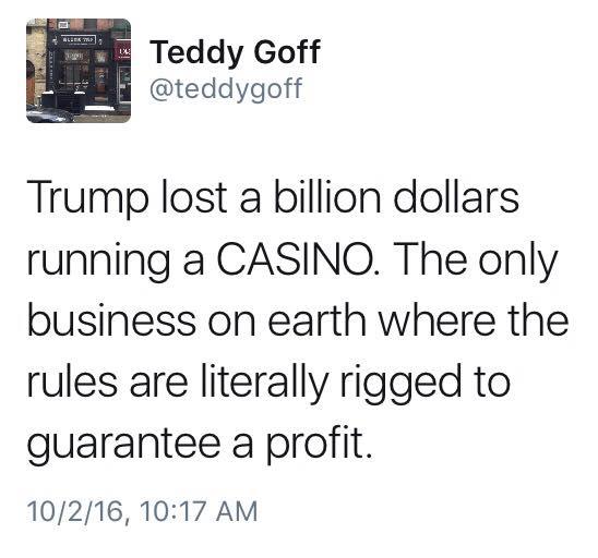 Trump Lost A Billion Dollars Running A Casino - JustPost ...