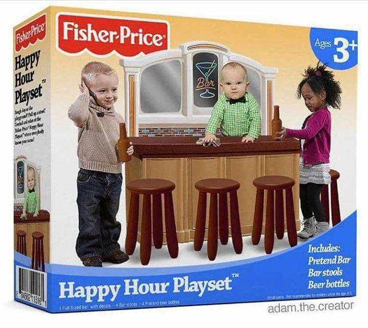 fisher price happy hour playset
