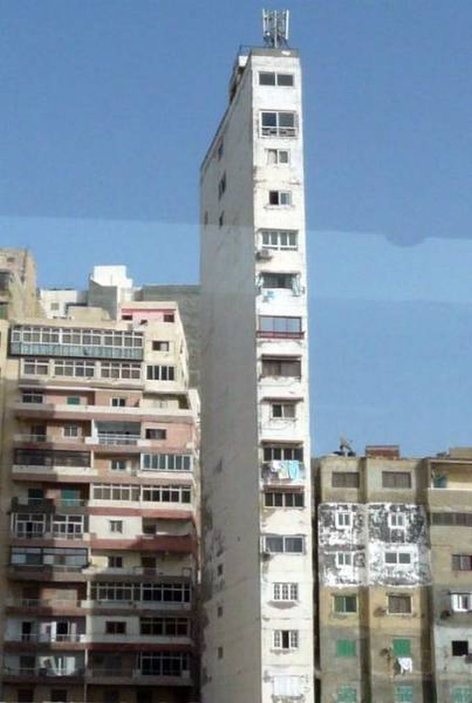 world's thinnest building