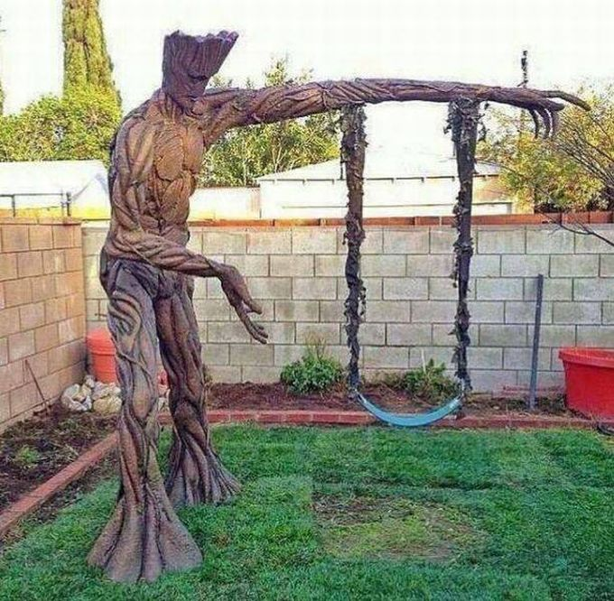 the ultimate groot swing