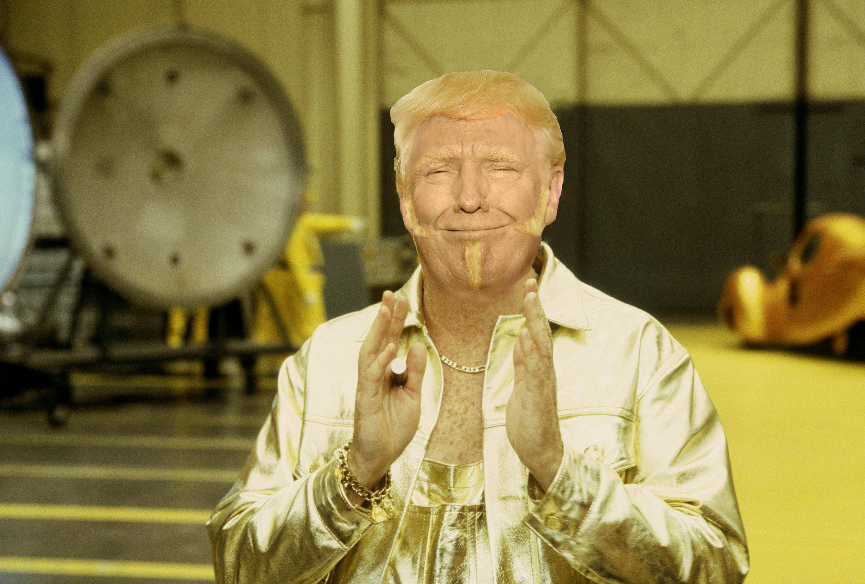 donald trump is evil supervillan goldmember, mashup