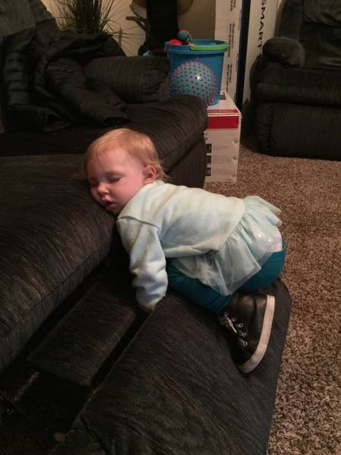 toddlers can fall asleep anywhere